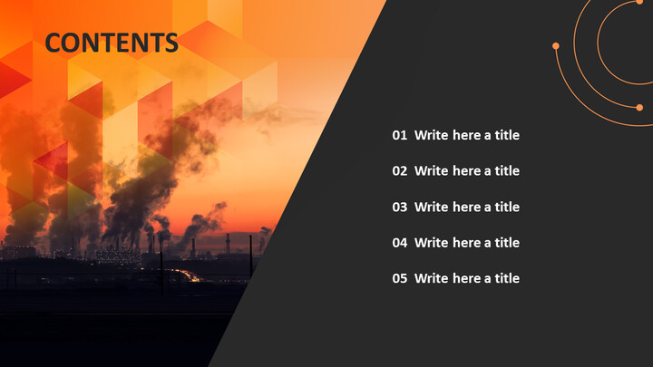 대기 오염 - 무료 PowerPoint 템플릿_02
