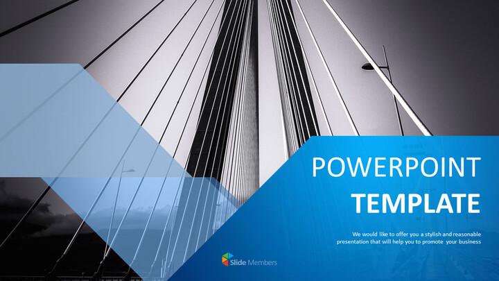 Bridge Building - Free PPT Design_01