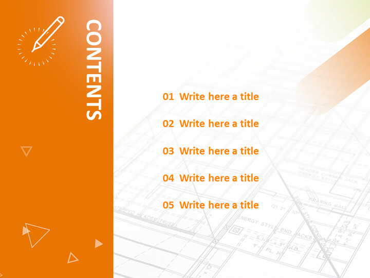 Design Drawing and Pen - Free Powerpoint Template_02