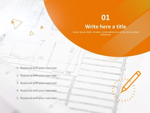 Design Drawing and Pen - Free Powerpoint Template_03