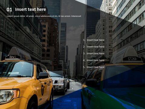 멋진 도시 전망 - 무료 파워포인트 샘플_03