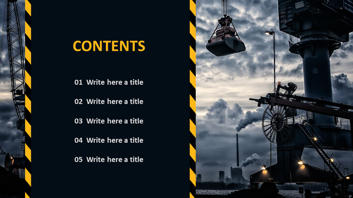 Free PowerPoint - Construction Site_02