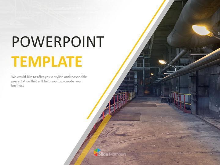 제조 회사 - 베스트 PPT 템플릿 무료 다운로드_01