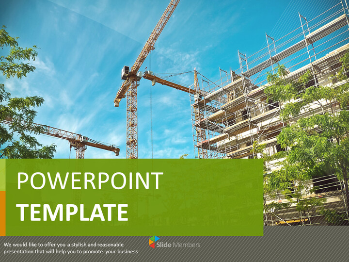 PowerPoint Images Free Download - Building Construction_01