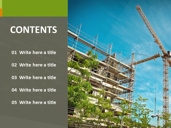 PowerPoint Images Free Download - Building Construction_02