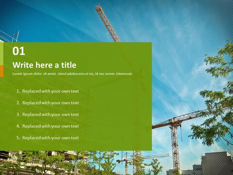 PowerPoint Images Free Download - Building Construction_03