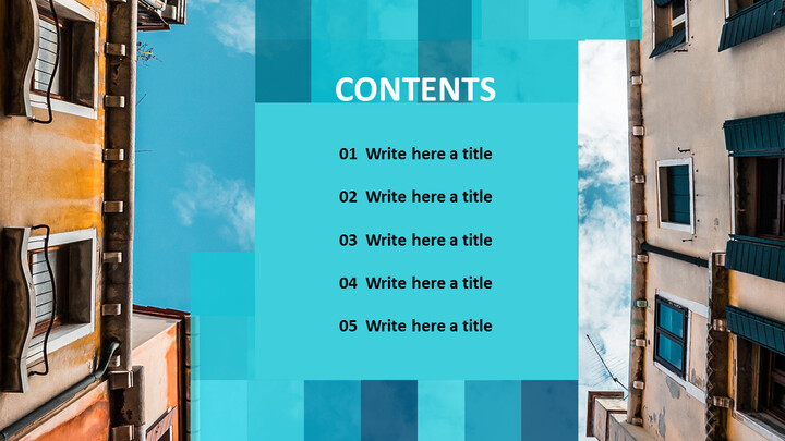 Sky in the <span class=\'highlight\'>City</span> - Free PowerPoint Templates_02