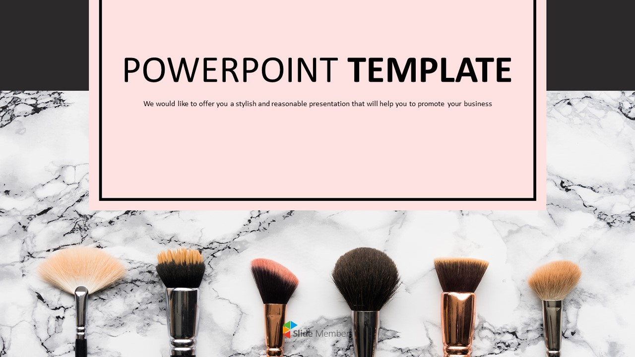 Various Makeup Brushes Ppt Download Free