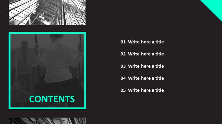 흑인과 백인 도시 - 무료 PPT 샘플_02