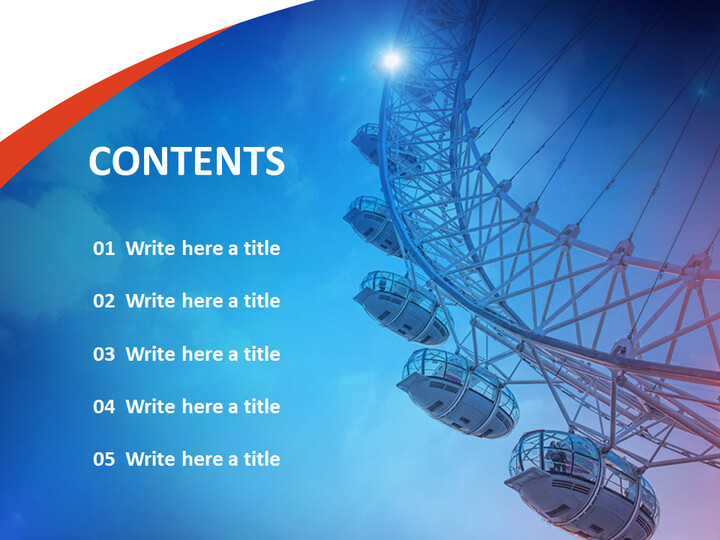 Ferris Wheel - Free Powerpoint Sample_02