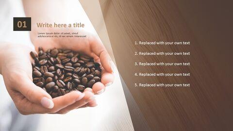 향기로운 커피 콩 - 파워포인트 이미지 무료 다운로드_03