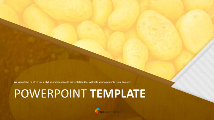 Free PowerPoint Template Design - Fresh Potato_01