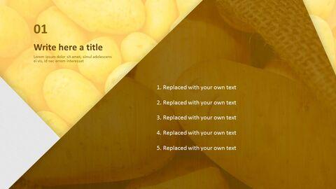 Free PowerPoint Template Design - Fresh Potato_03