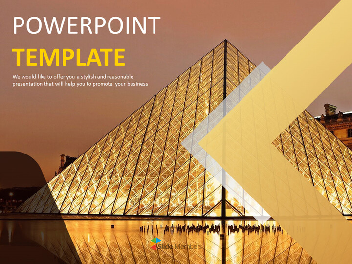 Free PPT - The Louvre Museum_01