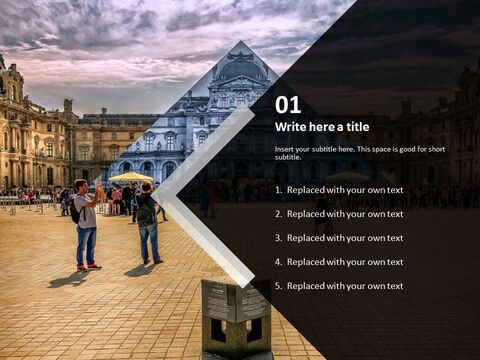 Free PPT - The Louvre Museum_03