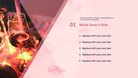 PowerPoint Template Free Download - Party with Wines_03