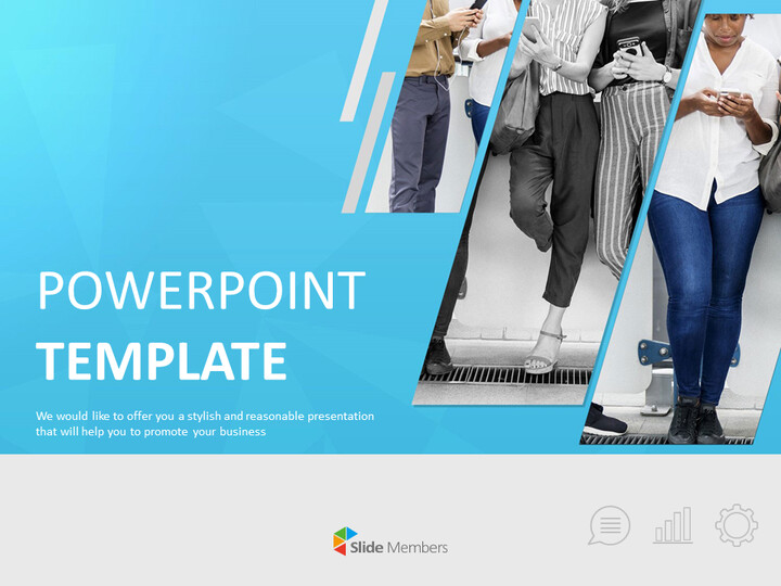 Free Powerpoint Sample - Business Man_01