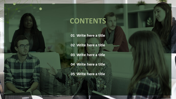 Free Professional PowerPoint Templates - Interview_02