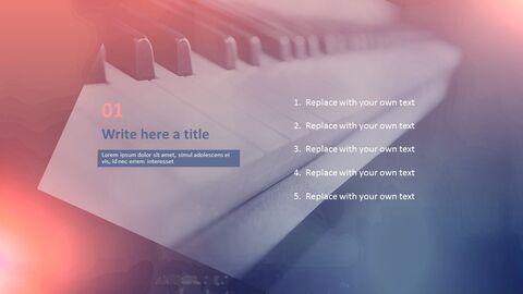 파워포인트 프레젠테이션 다운로드 무료 - 피아노_03