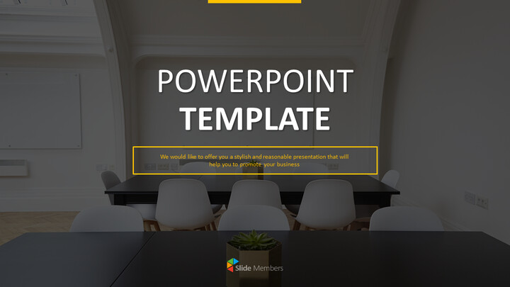 PowerPoint Template Free - Productive Meeting_01