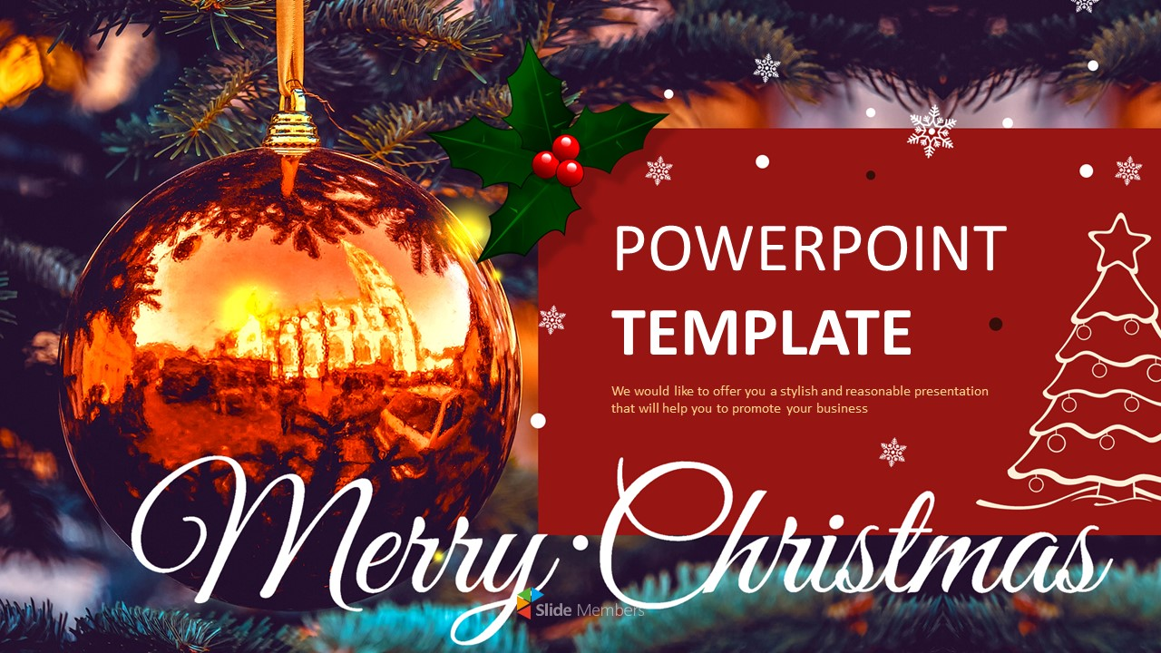 Ppt Design Free Download Christmas