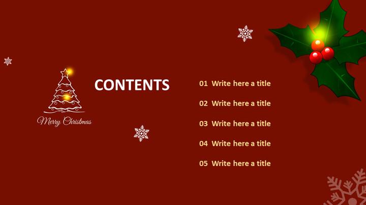 피피티 디자인 무료 다운로드 - 크리스마스_02