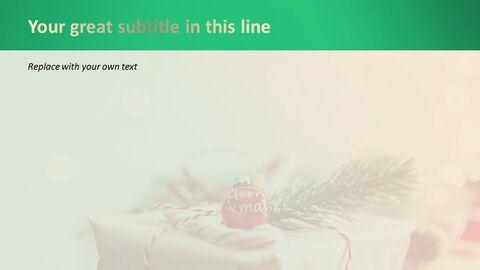 PPT 무료 다운로드 - 크리스마스 선물 포장_05
