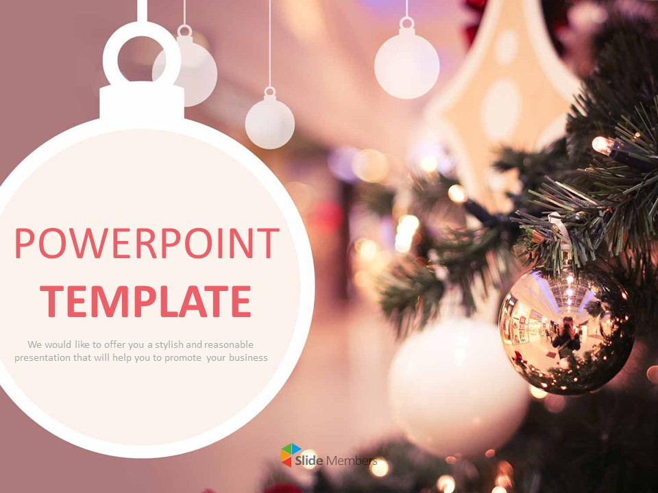 Romantic Christmas Powerpoint Templates Free Download