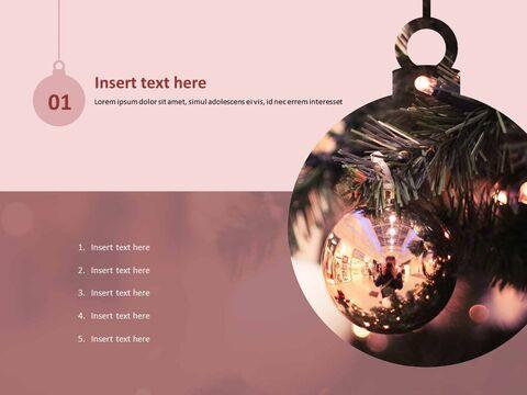 로맨틱 크리스마스 - 파워포인트 템플릿 무료 다운로드_03