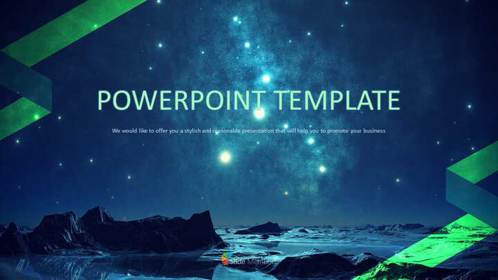 A Starry Sky - Free Images for Presentations_01