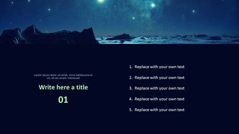 A Starry Sky - Free Images for Presentations_03