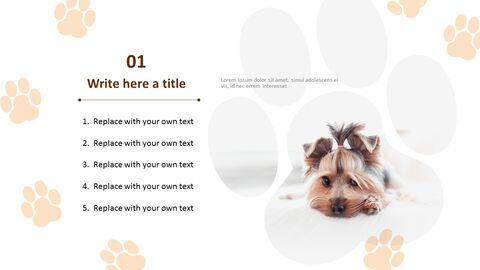 귀여운 강아지 - 파워포인트 이미지 무료 다운로드_03