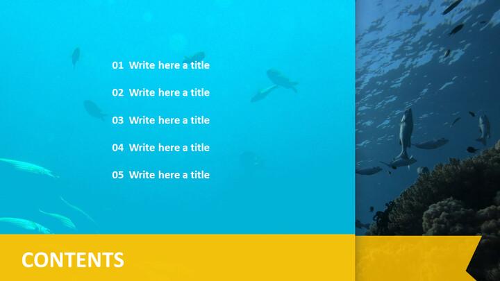 심해 물고기 - <span class=\'highlight\'>무료</span> PPT <span class=\'highlight\'>템플</span><span class=\'highlight\'>릿</span>_02