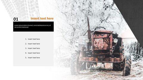 오래 된 트랙터 - 파워포인트 이미지 무료 다운로드_03