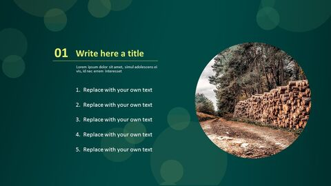 PPT Templates Free Download - Lumber Camp_03