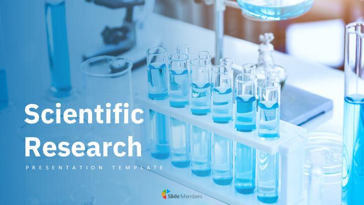 과학적 연구 심플한 Google 프레젠테이션_01