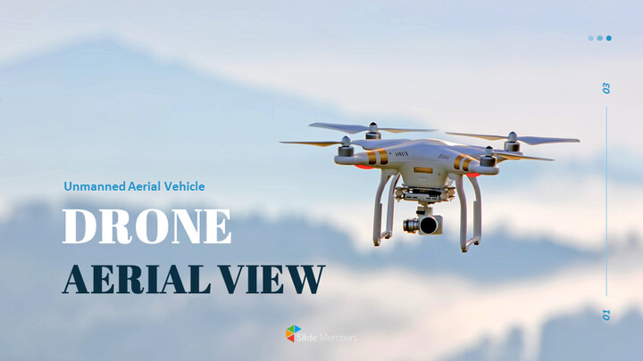Drone Aerial View Google Slides for mac_01
