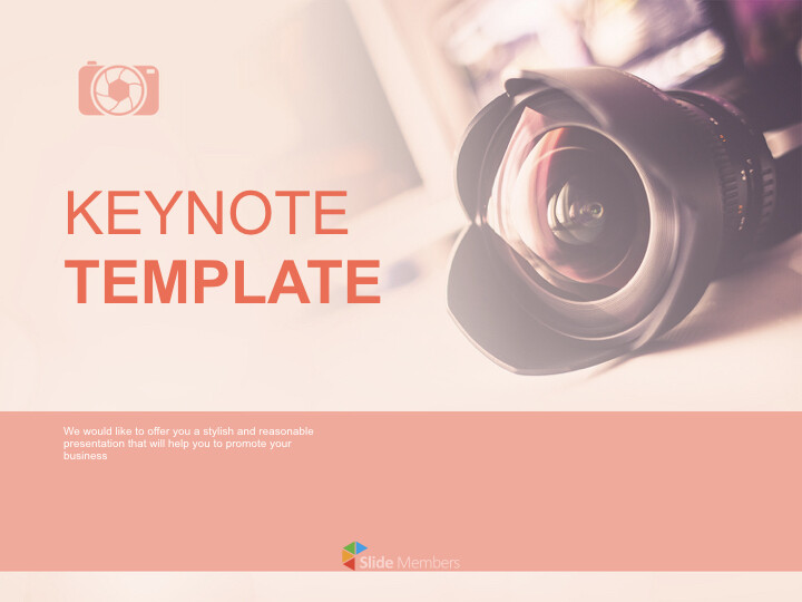 Free Presentation Template - DSLR <span class=\'highlight\'>Camera</span>_01