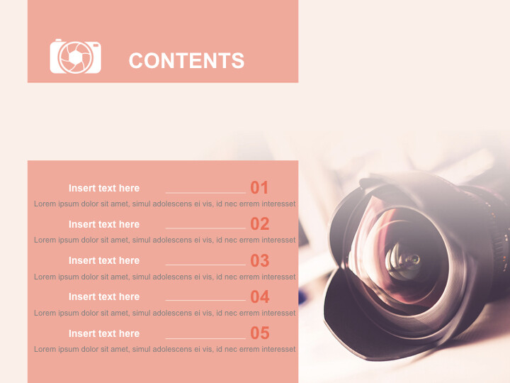 Free Presentation Template - DSLR <span class=\'highlight\'>Camera</span>_02