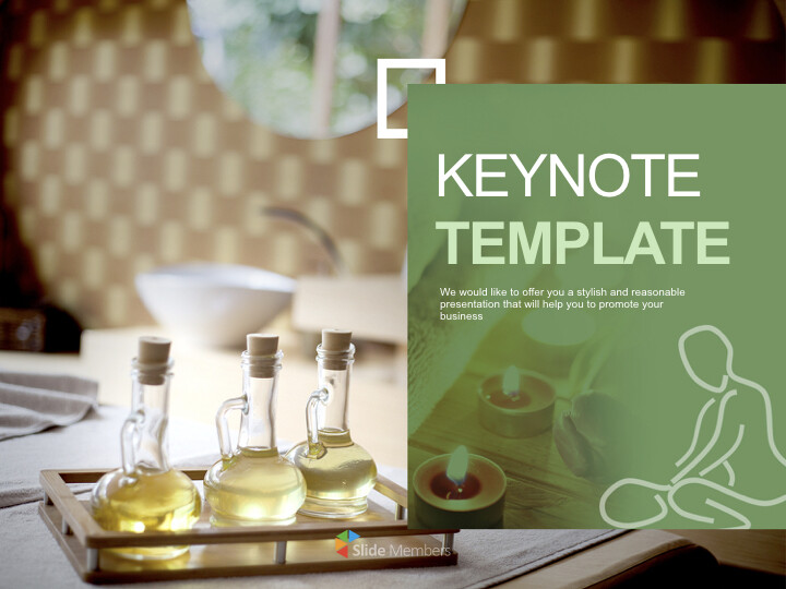 Keynote Templates Free Download - <span class=\'highlight\'>Well</span>-Being Aroma Massage_01