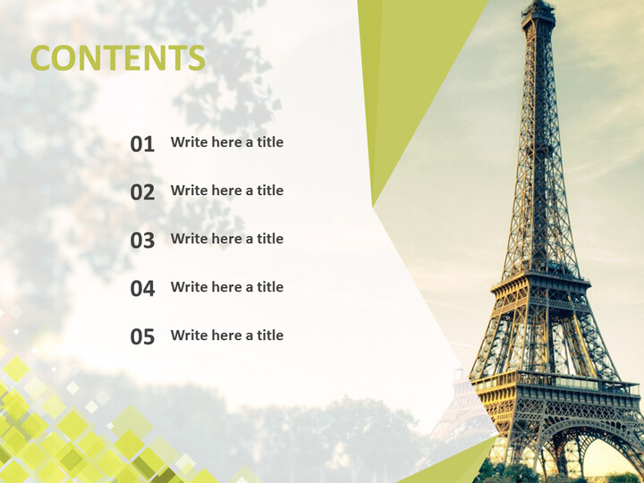 Free Google Slides Template - The Eiffel Tower_02