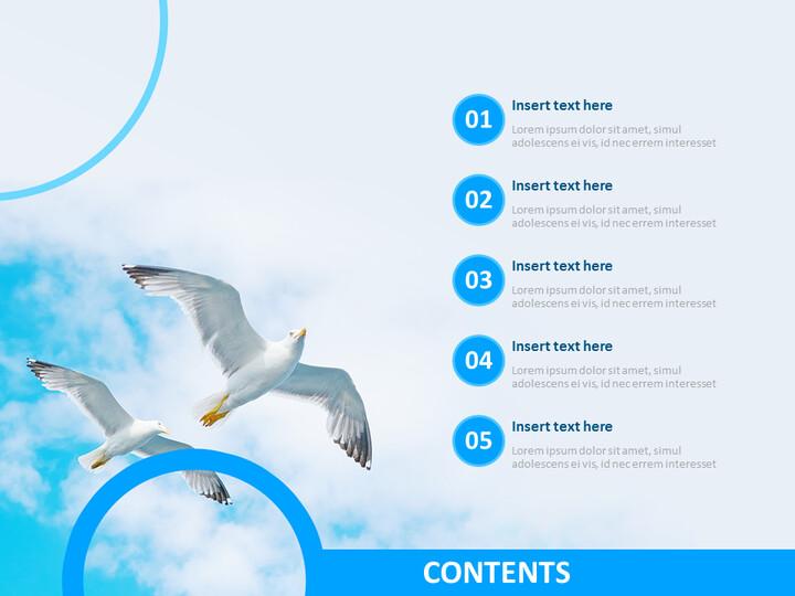 갈매기 - 무료 Google 슬라이드 템플릿 디자인_02