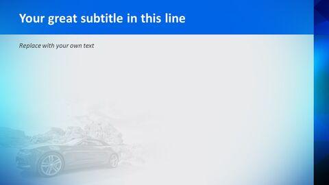 빨간 차 - 무료 Google 슬라이드 템플릿_04