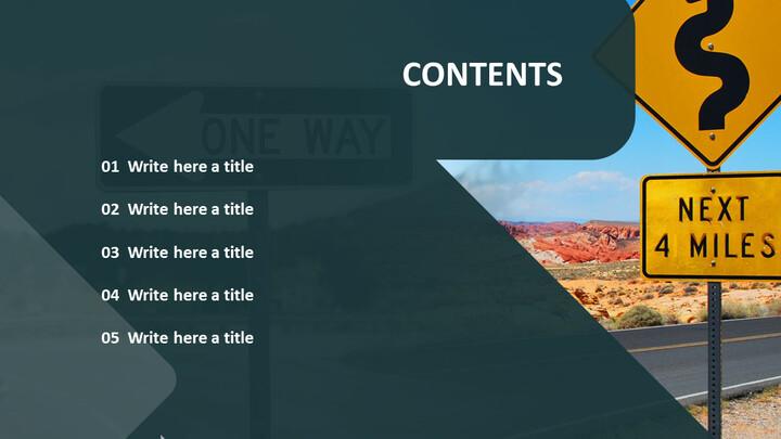 도 표지판 - 무료 Google 슬라이드 템플릿_04