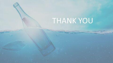 Bottle Floating in Ocean - Free Google Slides Template Design_04