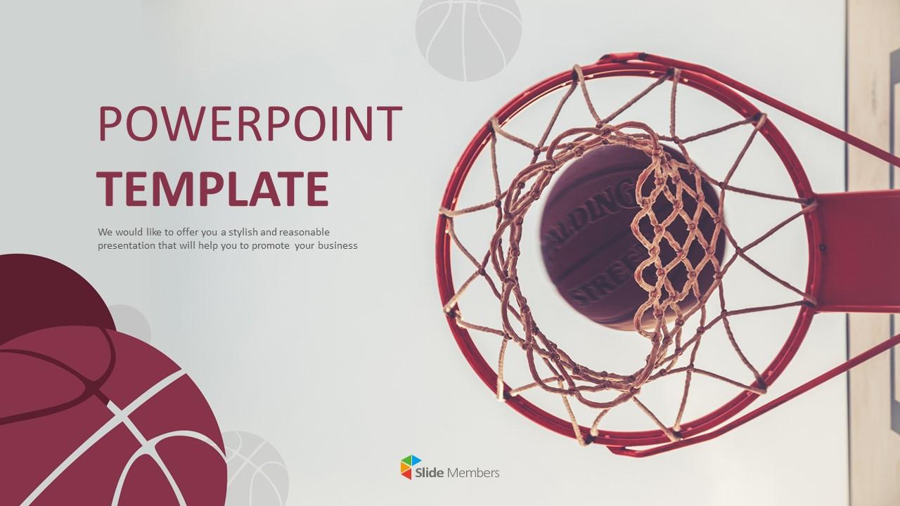 Free Google Slides Basketball