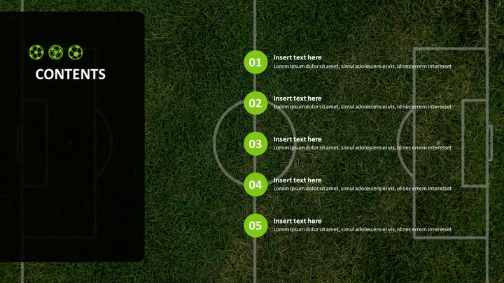 Free Google Slides Backgrounds - Soccer Big Match_04