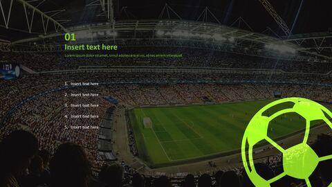 Free Google Slides Backgrounds - Soccer Big Match_02