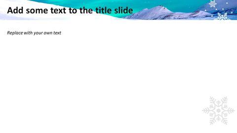 무료 구글 슬라이드 템플릿 디자인 - 스노이 타운_04