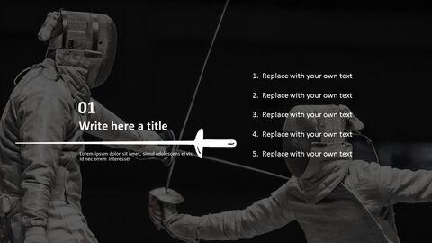 Free Google <span class=\'highlight\'>Slides</span> <span class=\'highlight\'>themes</span> - Fencing_05